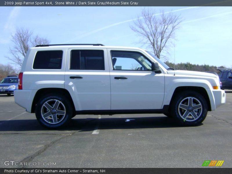 2009 jeep patriot sport 4x4 in stone white photo no. Black Bedroom Furniture Sets. Home Design Ideas