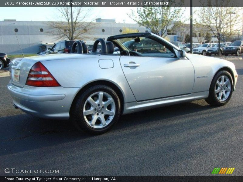 2001 mercedes benz slk 230 kompressor roadster in brilliant silver metallic photo no 47629499. Black Bedroom Furniture Sets. Home Design Ideas