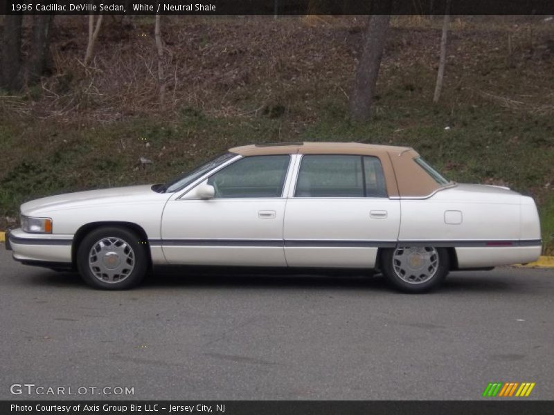 1996 cadillac deville sedan in white photo no 47689263. Black Bedroom Furniture Sets. Home Design Ideas