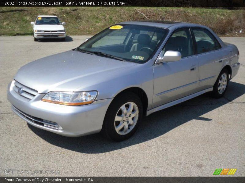... Silver Metallic / Quartz Gray 2002 Honda Accord EX-L Sedan Photo #1