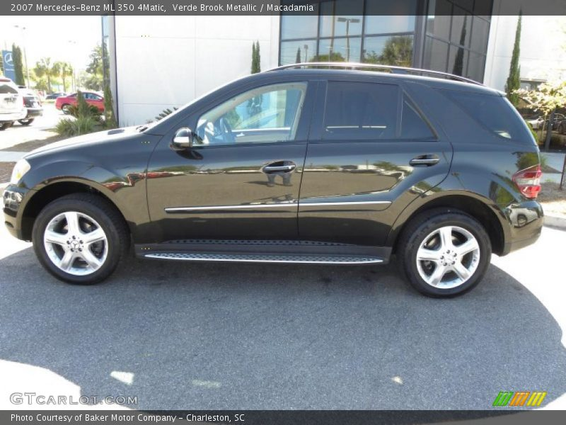 2007 mercedes benz ml 350 4matic in verde brook metallic for Mercedes benz ml 350 2007