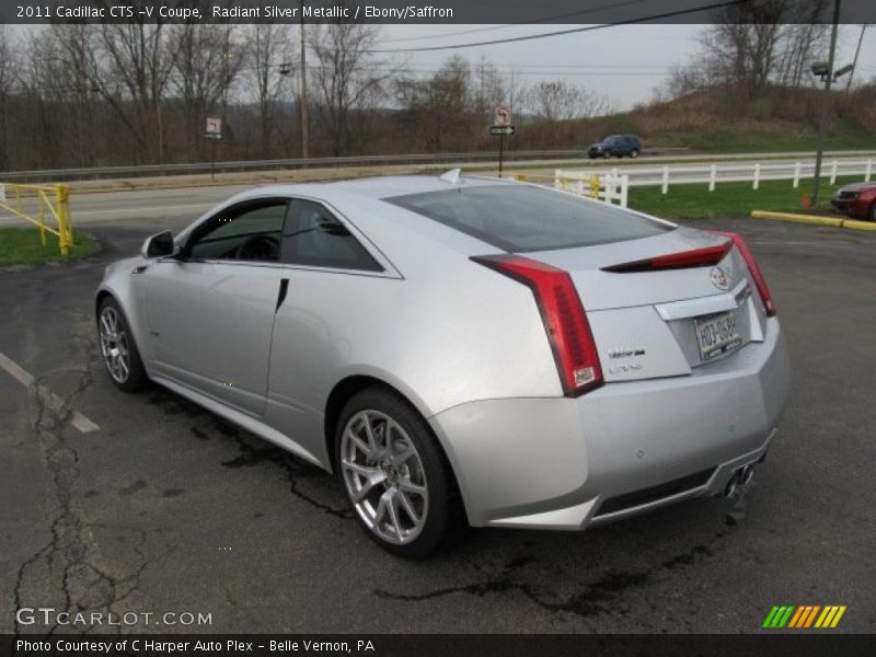 2011 Cts V Coupe Radiant Silver Metallic Photo No