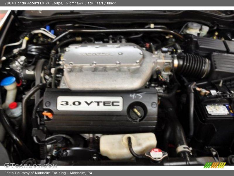 2004 accord ex v6 coupe engine 3 0 liter sohc 24 valve v6 photo no 47820431. Black Bedroom Furniture Sets. Home Design Ideas