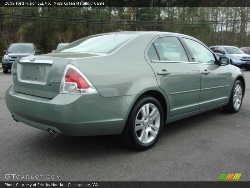 2009 ford fusion sel v6 in moss green metallic photo no. Black Bedroom Furniture Sets. Home Design Ideas