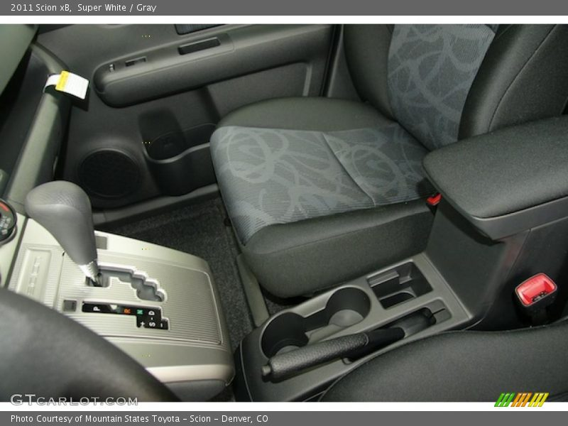 Super White / Gray 2011 Scion xB