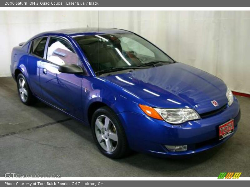 2006 Saturn Ion 3 Quad Coupe In Laser Blue Photo No 48015703
