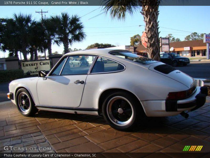 1978 porsche 911 sc coupe in grand prix white photo no. Black Bedroom Furniture Sets. Home Design Ideas