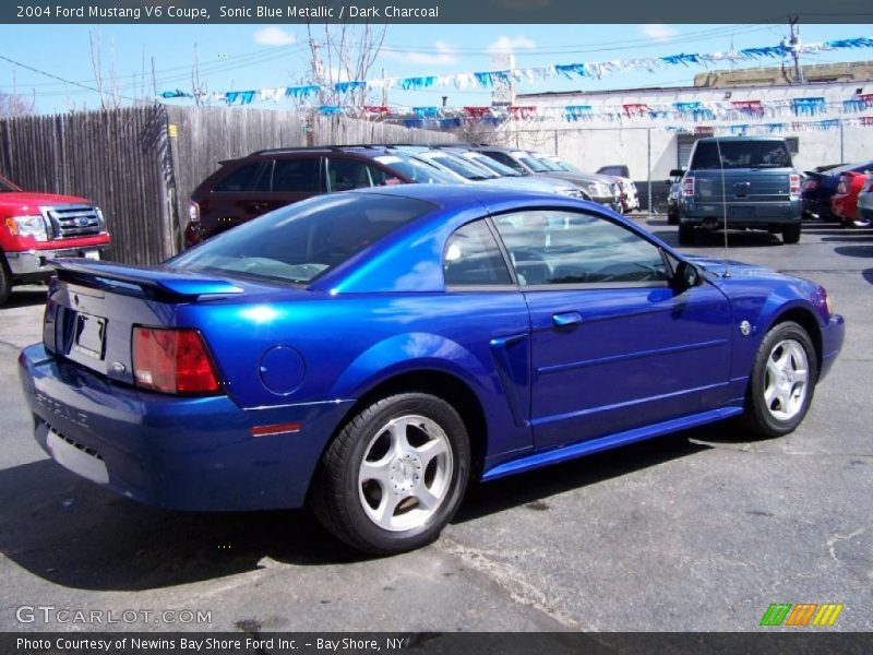 2002 Mustang Color Code SN for Sonic Blue Metallic Photo ...