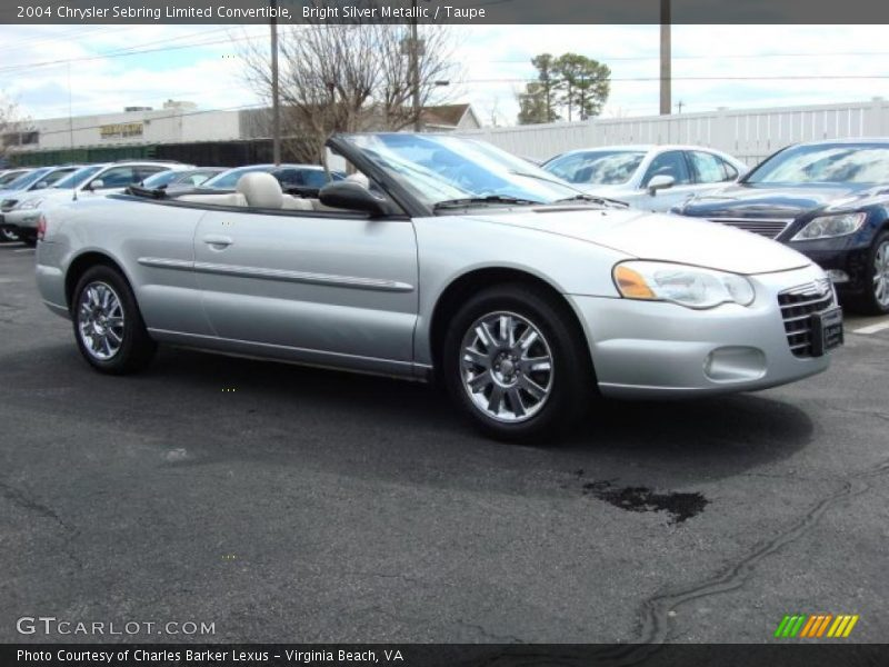 this bright silver metallic 2004 chrysler sebring limited convertible. Cars Review. Best American Auto & Cars Review