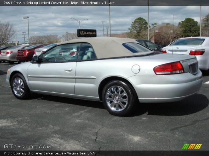 2004 chrysler sebring limited convertible in bright silver. Black Bedroom Furniture Sets. Home Design Ideas