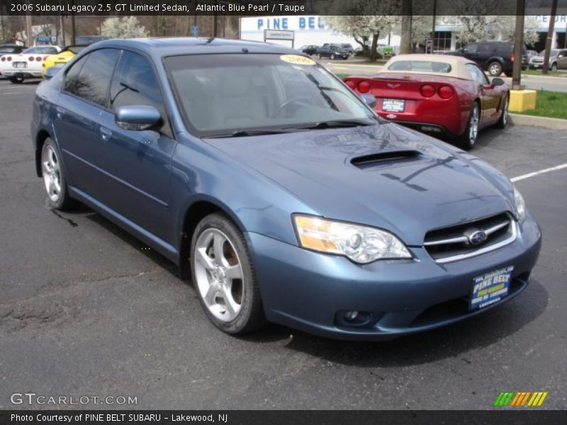 2006 subaru legacy 2 5 gt limited sedan in atlantic blue pearl photo no 48129217. Black Bedroom Furniture Sets. Home Design Ideas