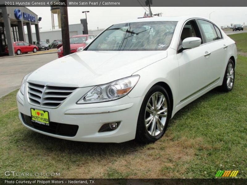 2011 Hyundai Genesis 4 6 Sedan In White Satin Pearl Photo No 48133373 Gtcarlot Com