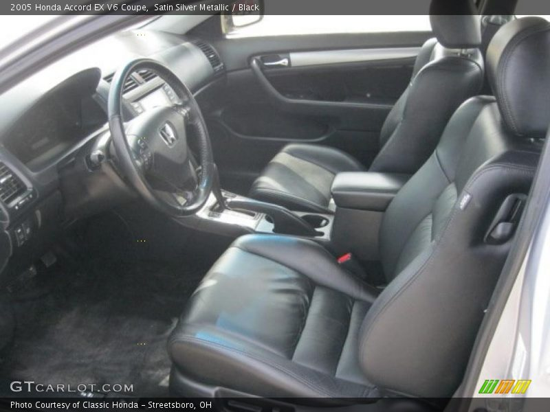 2005 accord ex v6 coupe black interior photo no 48162998. Black Bedroom Furniture Sets. Home Design Ideas