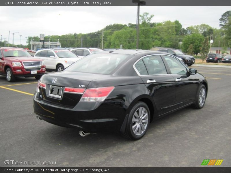 2011 honda accord ex l v6 sedan in crystal black pearl photo no 48165251. Black Bedroom Furniture Sets. Home Design Ideas