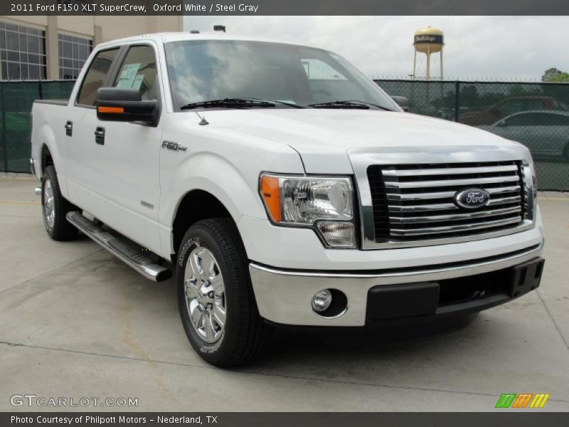 2011 ford f150 xlt supercrew in oxford white photo no 48194387. Black Bedroom Furniture Sets. Home Design Ideas