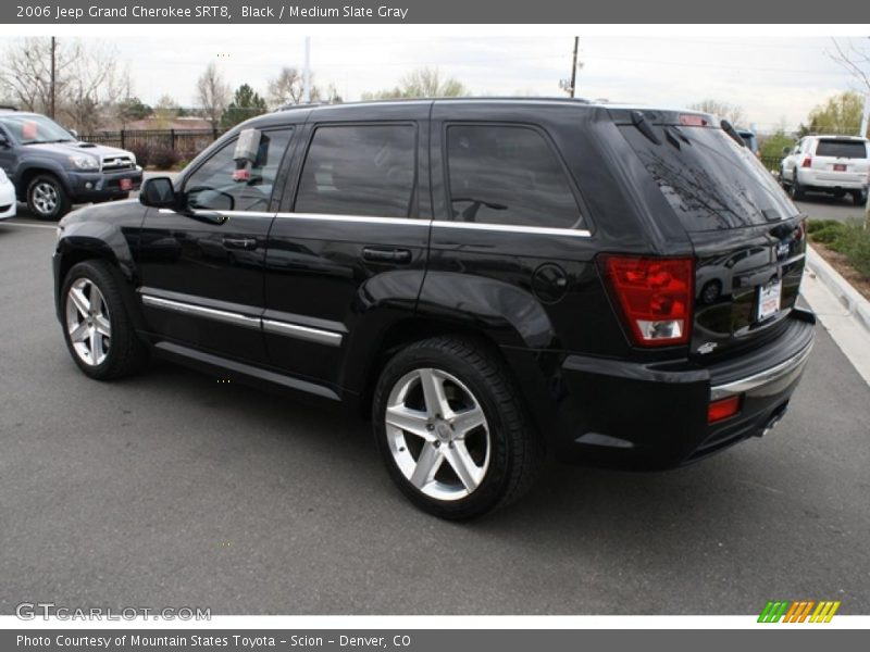 2006 jeep grand cherokee srt8 in black photo no 48249510. Black Bedroom Furniture Sets. Home Design Ideas