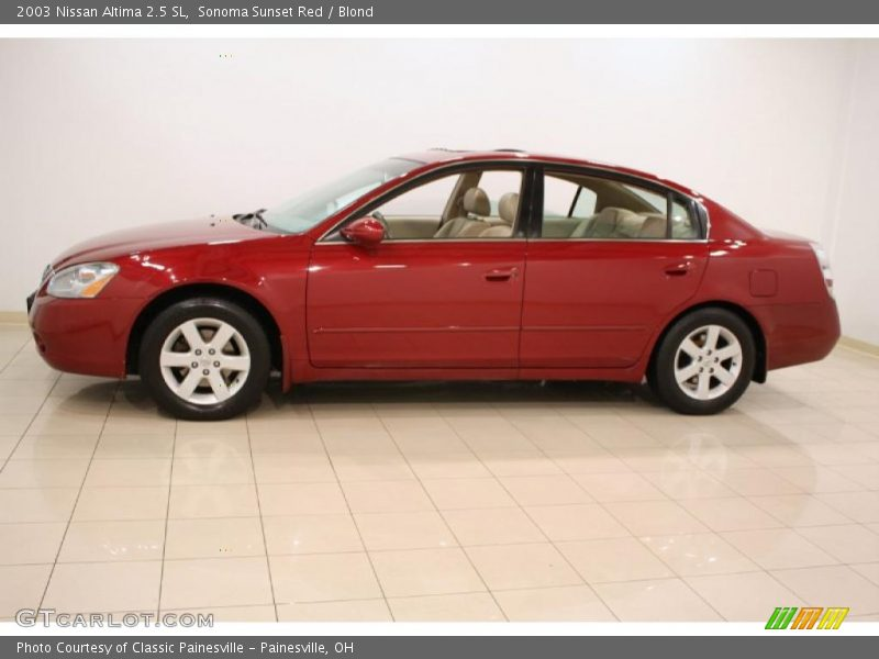 2003 nissan altima 2 5 sl in sonoma sunset red photo no 48318497. Black Bedroom Furniture Sets. Home Design Ideas