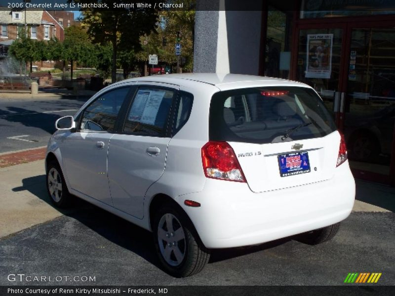 2006 chevrolet aveo ls hatchback in summit white photo no. Black Bedroom Furniture Sets. Home Design Ideas