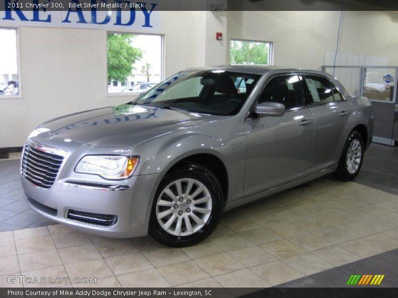 Billet Silver Metallic / Black 2011 Chrysler 300