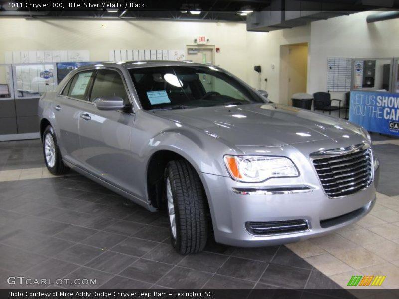 Billet Silver Metallic / Black 2011 Chrysler 300