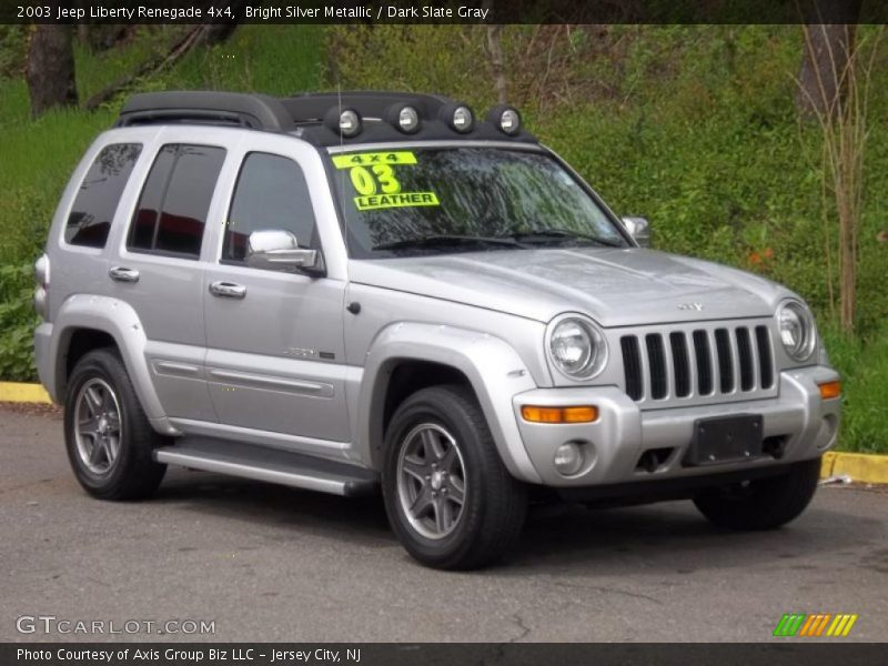 2003 jeep liberty renegade 4x4 in bright silver metallic. Black Bedroom Furniture Sets. Home Design Ideas