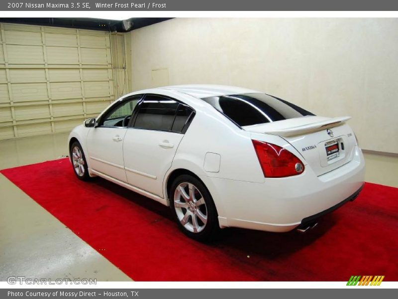 2007 nissan maxima 3 5 se in winter frost pearl photo no 48518824. Black Bedroom Furniture Sets. Home Design Ideas
