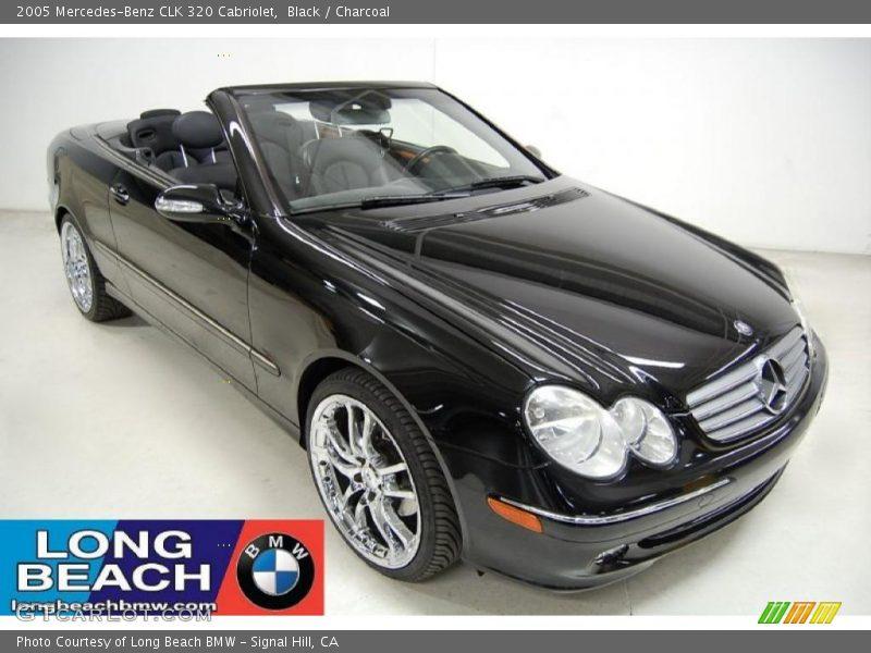 2005 mercedes benz clk 320 cabriolet in black photo no for 2005 mercedes benz clk 320