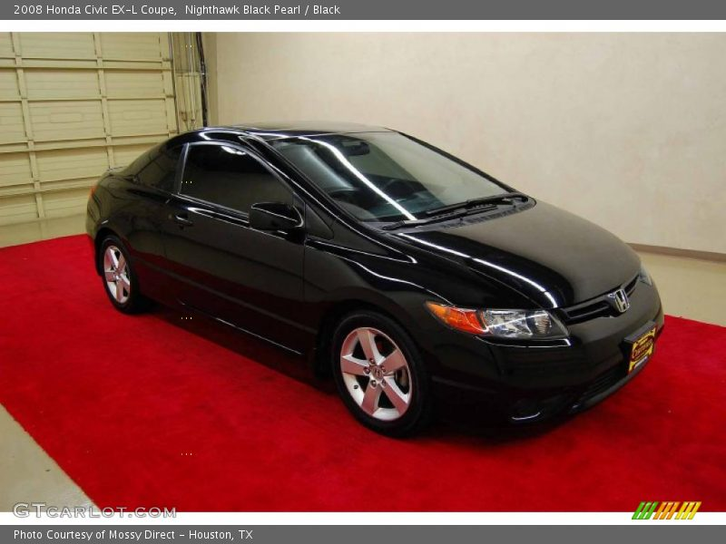 2008 honda civic ex l coupe in nighthawk black pearl photo. Black Bedroom Furniture Sets. Home Design Ideas