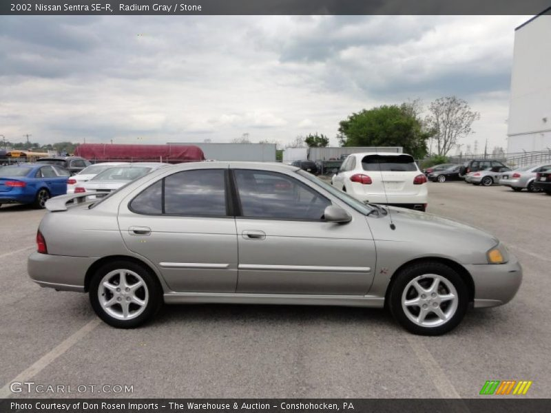 2002 nissan sentra se r in radium gray photo no 48712573. Black Bedroom Furniture Sets. Home Design Ideas