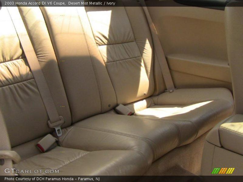 Desert Mist Metallic / Ivory 2003 Honda Accord EX V6 Coupe
