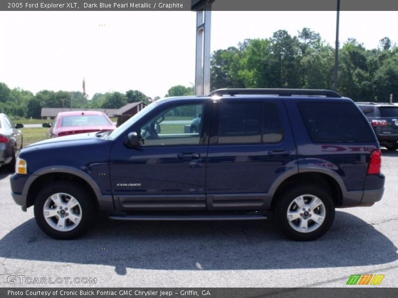 2005 ford explorer xlt in dark blue pearl metallic photo. Black Bedroom Furniture Sets. Home Design Ideas