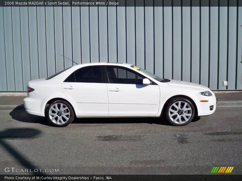 2006 mazda mazda6 s sport sedan in performance white photo. Black Bedroom Furniture Sets. Home Design Ideas