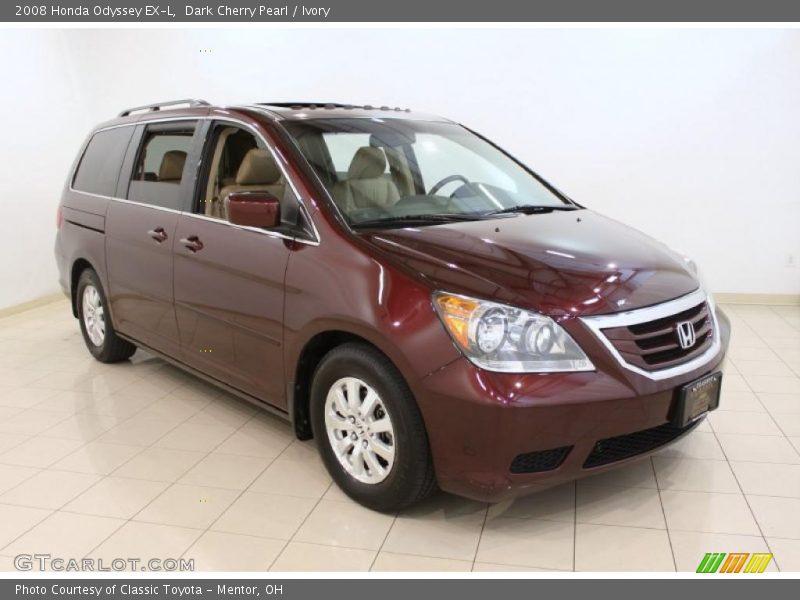 2008 Honda Odyssey EX-L in Dark Cherry Pearl Photo No. 49113740 ...