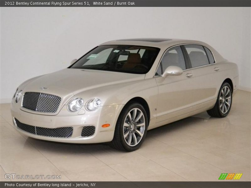 Front 3/4 View of 2012 Continental Flying Spur Series 51