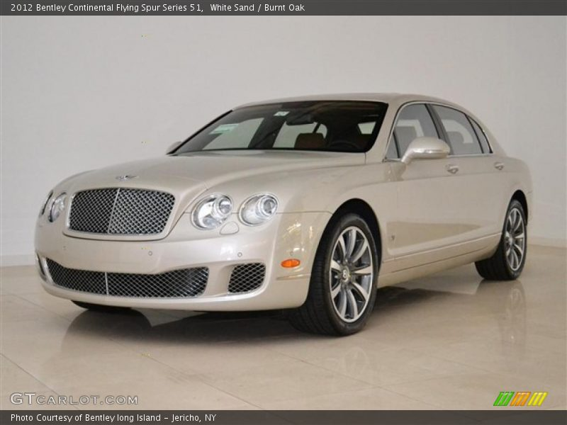 2012 Continental Flying Spur Series 51 White Sand