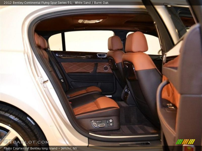 2012 Continental Flying Spur Series 51 Burnt Oak Interior