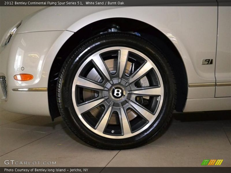 2012 Continental Flying Spur Series 51 Wheel