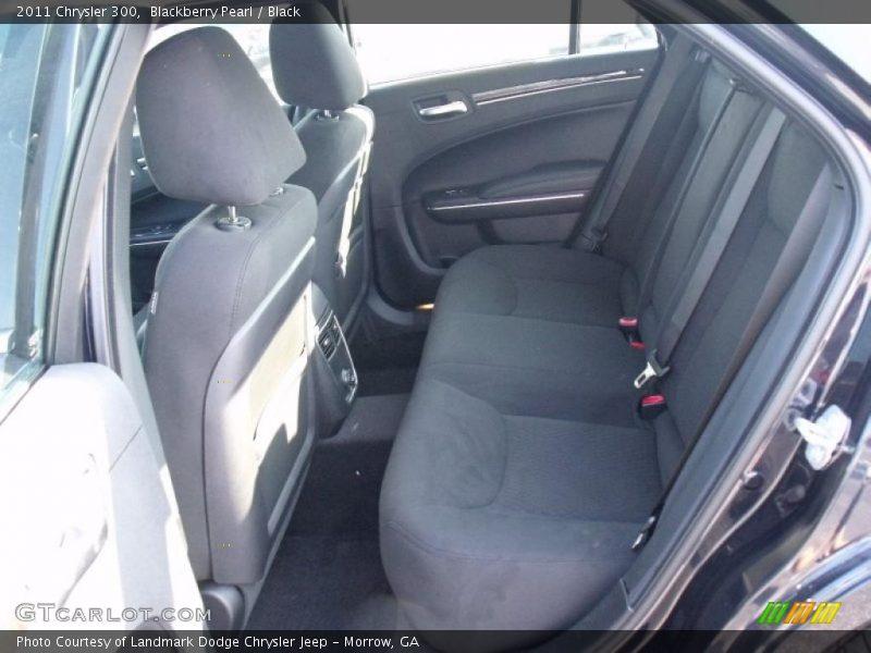 Blackberry Pearl / Black 2011 Chrysler 300