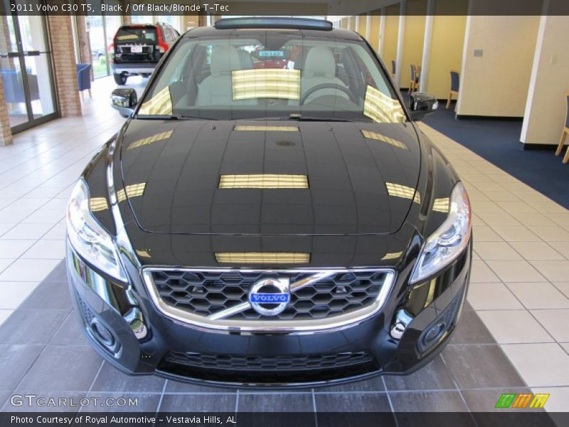 Black / Off Black/Blonde T-Tec 2011 Volvo C30 T5