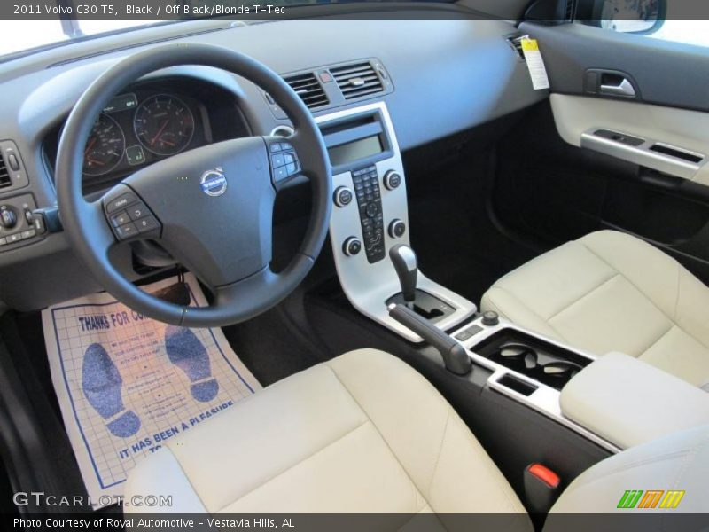 Dashboard of 2011 C30 T5