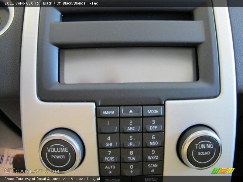 Controls of 2011 C30 T5