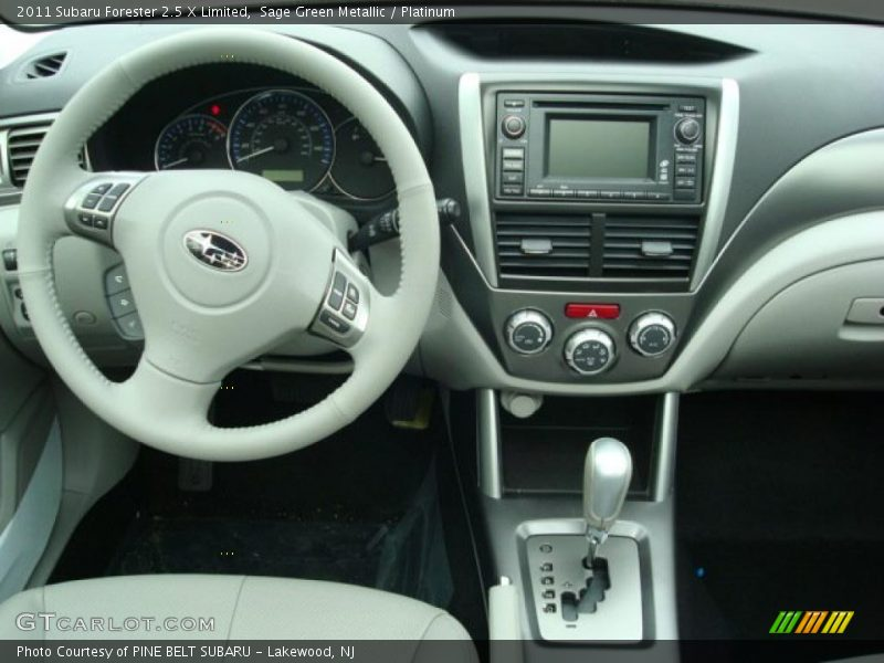 Dashboard of 2011 Forester 2.5 X Limited