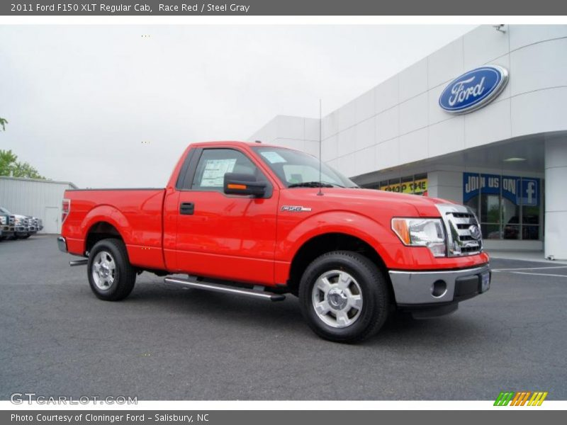 2011 ford f150 xlt regular cab in race red photo no 49370642. Black Bedroom Furniture Sets. Home Design Ideas