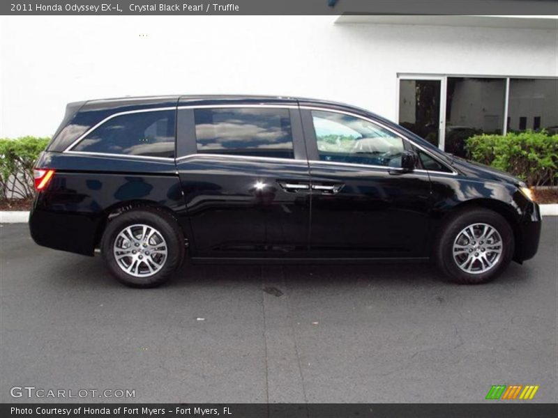2011 Honda Odyssey Ex L In Crystal Black Pearl Photo No 49455493 Gtcarlot Com