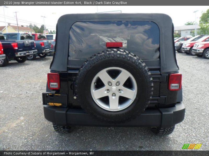 2010 jeep wrangler unlimited islander edition 4x4 in black. Black Bedroom Furniture Sets. Home Design Ideas