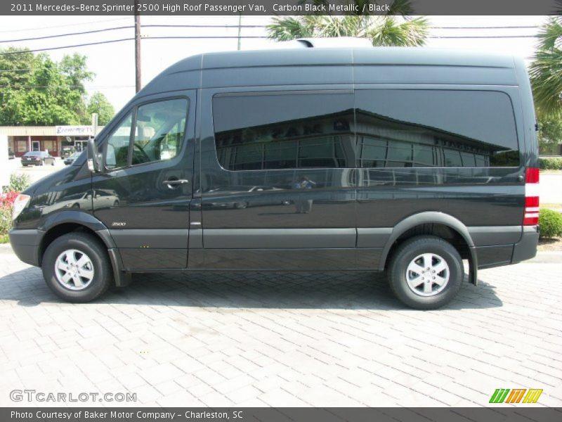 2011 Sprinter 2500 High Roof Passenger Van Carbon Black Metallic