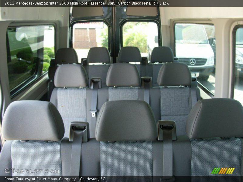 2011 Sprinter 2500 High Roof Passenger Van Black Interior