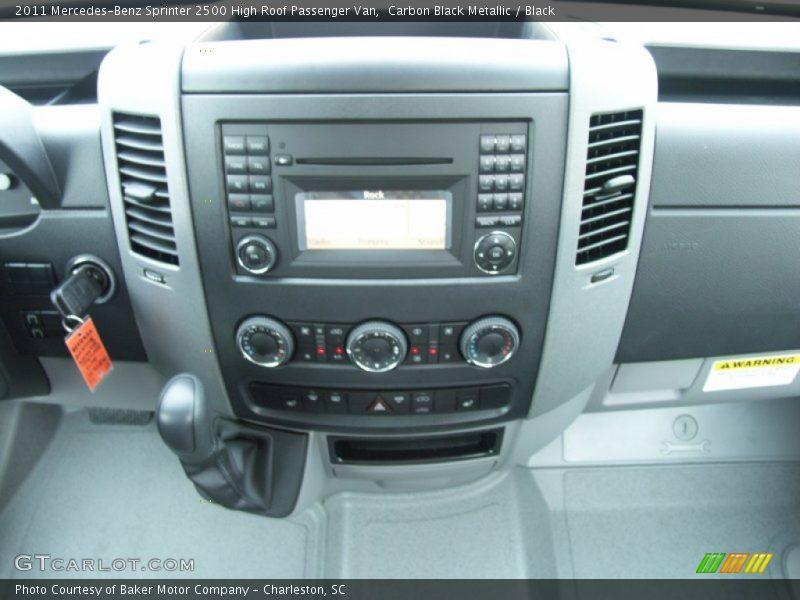 Controls of 2011 Sprinter 2500 High Roof Passenger Van
