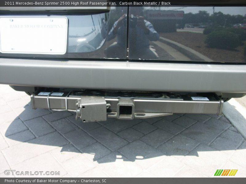 Carbon Black Metallic / Black 2011 Mercedes-Benz Sprinter 2500 High Roof Passenger Van