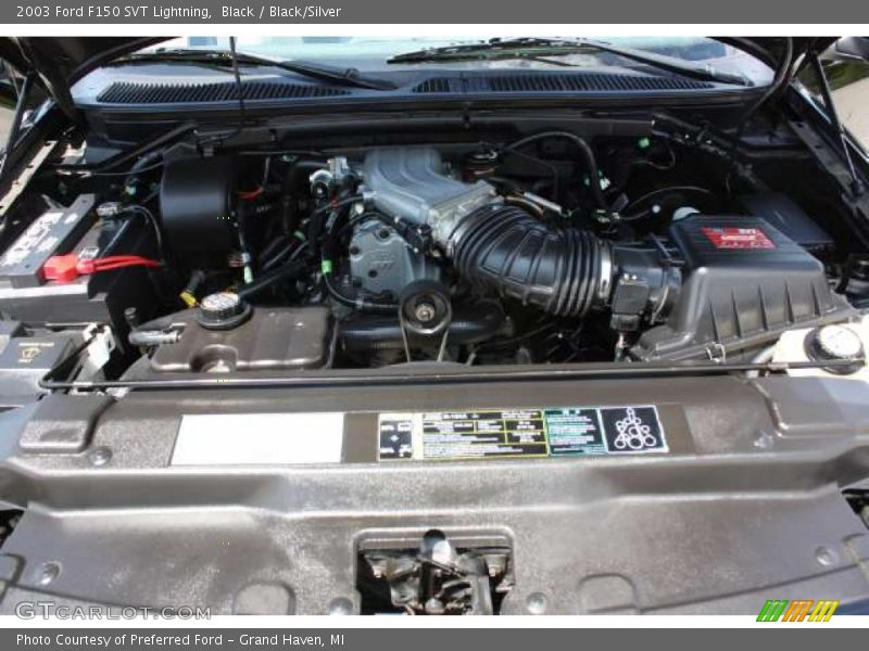 2003 f150 svt lightning engine 5 4 liter svt supercharged sohc 16